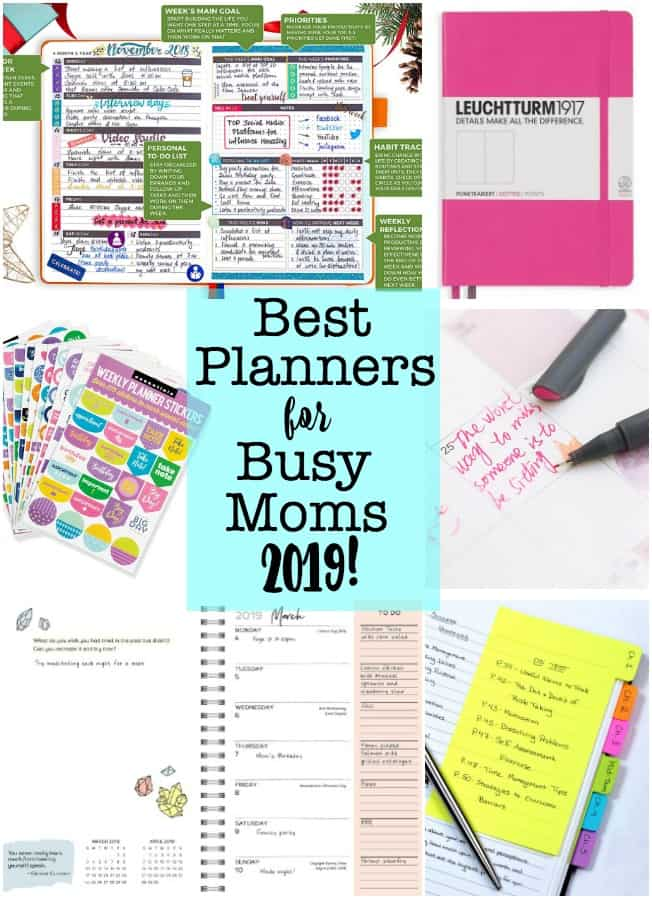 The Best Planners For Moms For 2019 Momof6