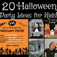 Halloween Party Ideas for Kids!