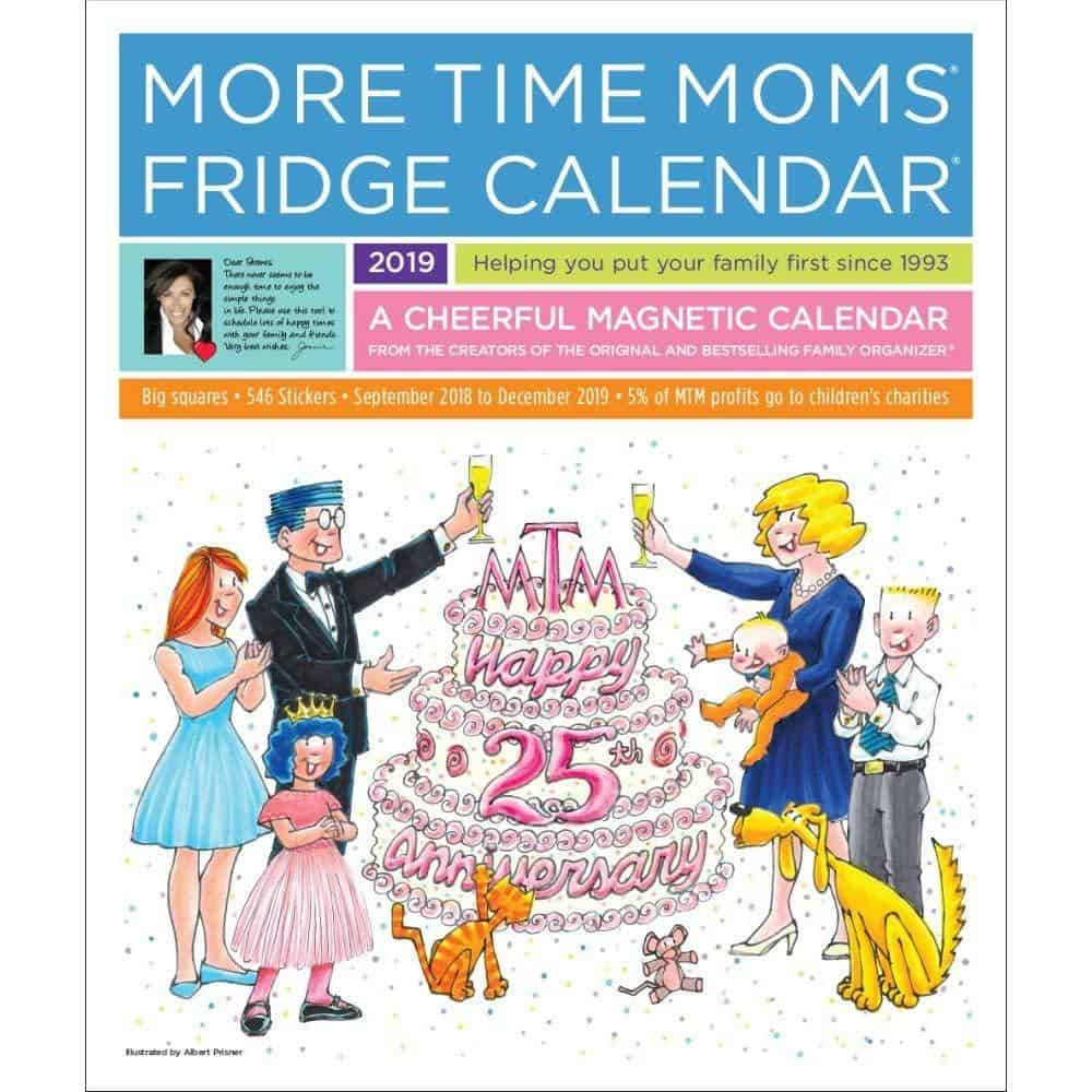 More Time Moms Fridge Calendar