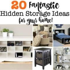 20 Fantastic Hidden Storage Ideas for Your Home