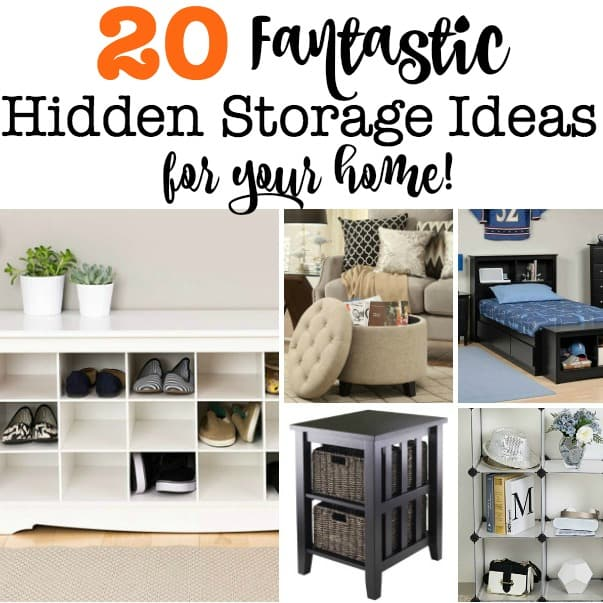 20 Fantastic Hidden Storage Ideas For Your Home   MomOf6