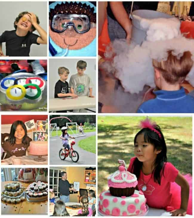 birthday party ideas at home