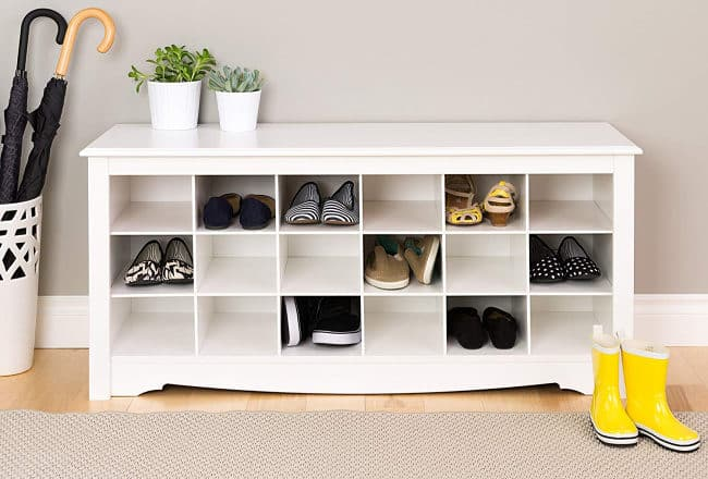 hidden shoe storage ideas