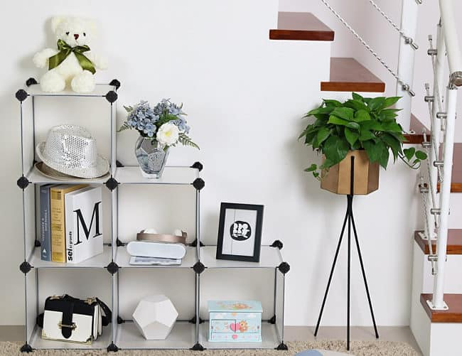 It seems like there is never enough room to store everything you own! This post on 20 fantastic storage ideas will help you to create storage in your bedroom, entryway and living room- helping you to tame the clutter and get organized!