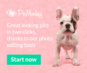 Great looking pics in two clicks, thanks to PicMonkey's photo editing tools
