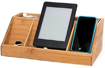 best bamboo desktop charging station