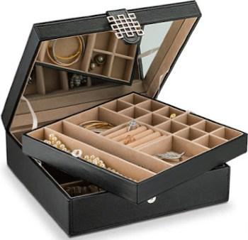 Top Pick for Jewelry Box: Glenor Jewelry Box
