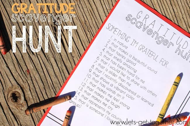 These scavenger hunt ideas for tweens are great because it gets them moving! And since scavenger hunts are so interactive it is easy to put kids together into groups to work on finding items- even if they don't know each other well- perfect for kids birthday parties and get-togethers!