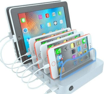 best 6 port charging station