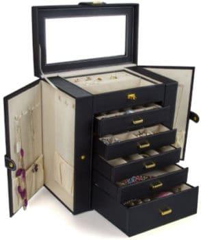mutli-drawer jewelry box