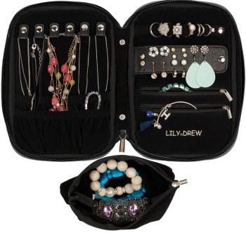Lily & Drew Travel Jewelry Organizer