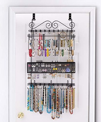 Longstem Over the Door Jewelry Organizer