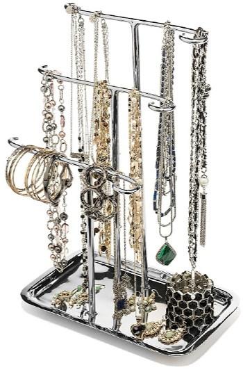 Metal Jewelry Tree