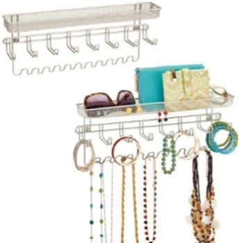 wire wall jewelry organizer
