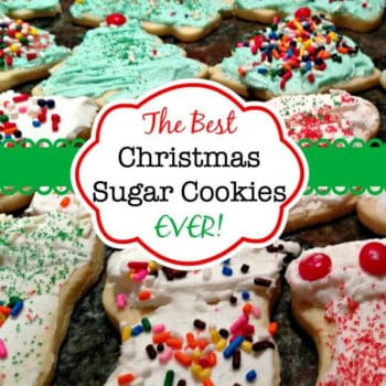The Best Christmas Sugar Cookies EVER!