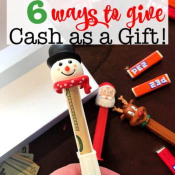 6 Ways to Give Cash as a Gift!