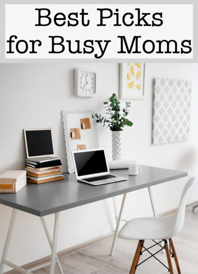 Whether you are organizing your home, your schedule or your busy life- these posts featuring our very best picks for busy Moms were created to help you!