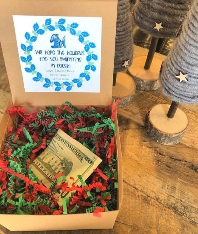 Creative Ways To Give Money For Christmas Present.6 Ways To Give Cash As A Gift Momof6