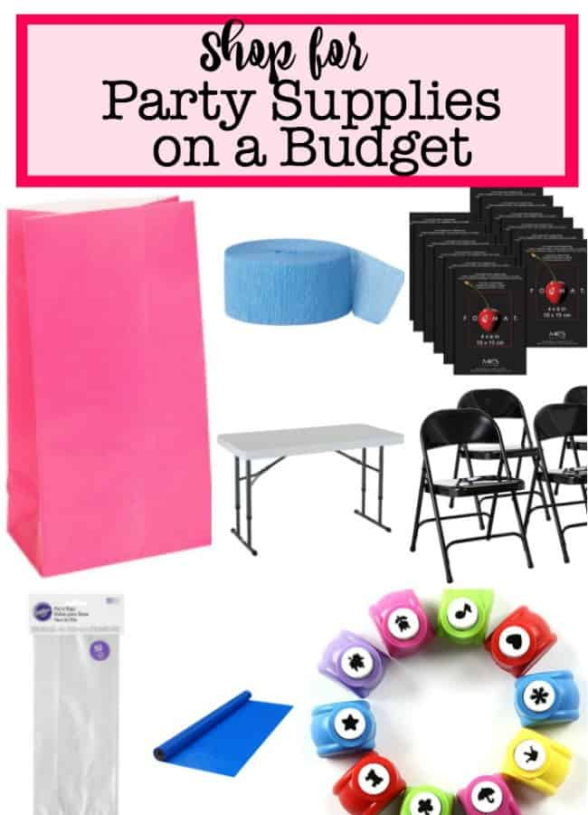 kids part at home- supplies you'll need