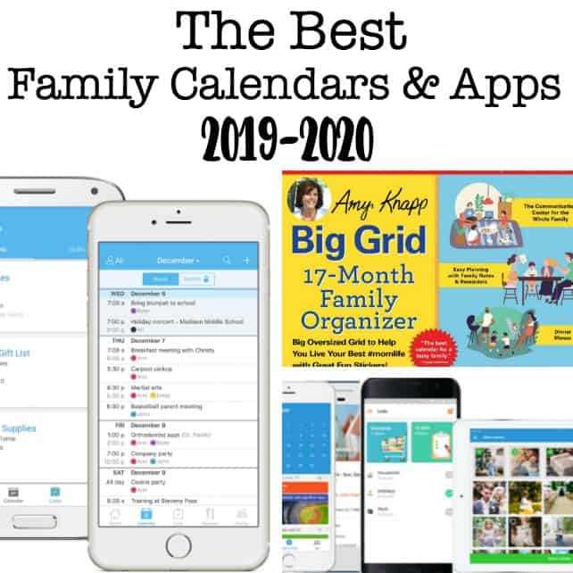 Best Family Board Games 2020 The Best Family Calendars for 2019 2020!   MomOf6