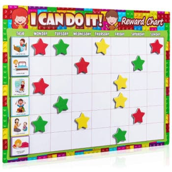 chore chart for preschoolers