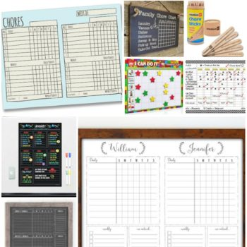 The Best Chore Chart for Kids!