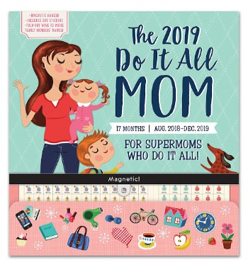 Do It All Moms Magnetic Fridge Calendar