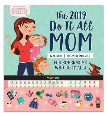 Do It All Moms Magnetic Fridge Calendar