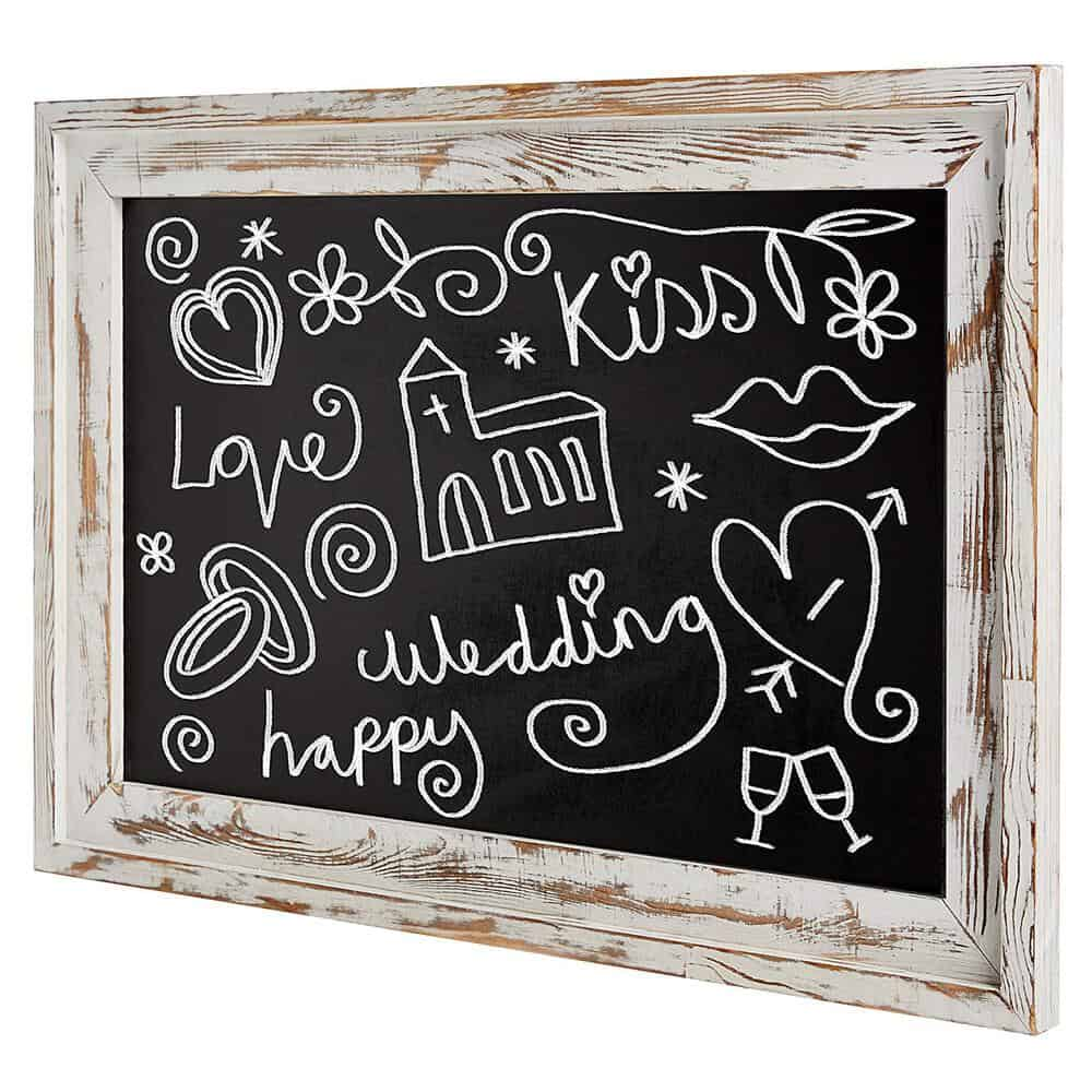 My Gift's Shabby Chic Framed Chalkboard