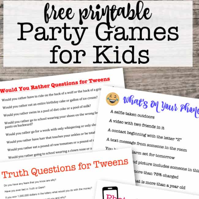 graphic relating to Free Printable Left Right Birthday Game identify Occasion Online games for Young children - MomOf6