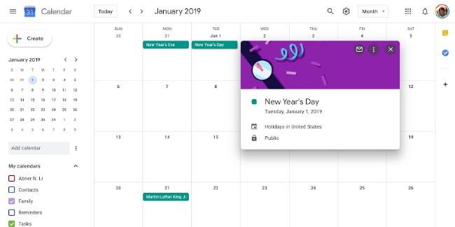 family calendar systems