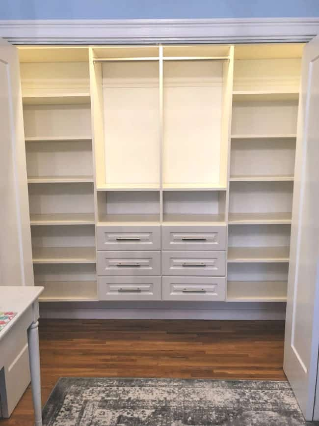 How To Design And Install A Diy Custom Closet In Your Kids