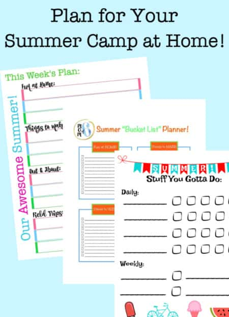 How to start a summer camp at home!