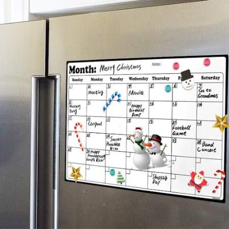 dry erase calendar for families