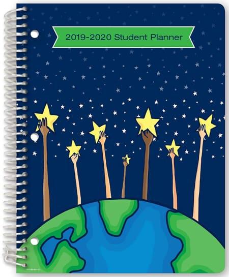 student planner for elementary school
