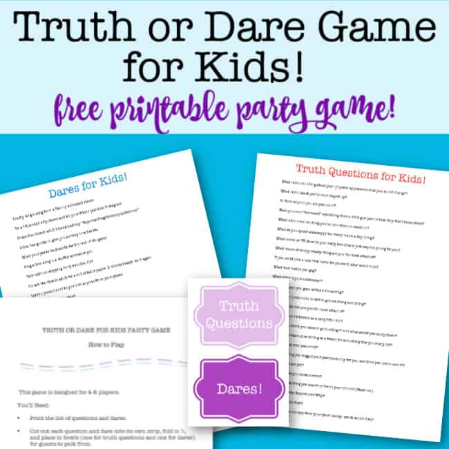 Or kids truth dare for Download Truth