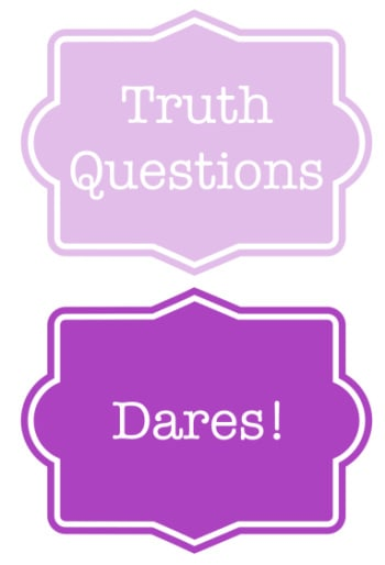 Truth or Dare Party Game for Kids