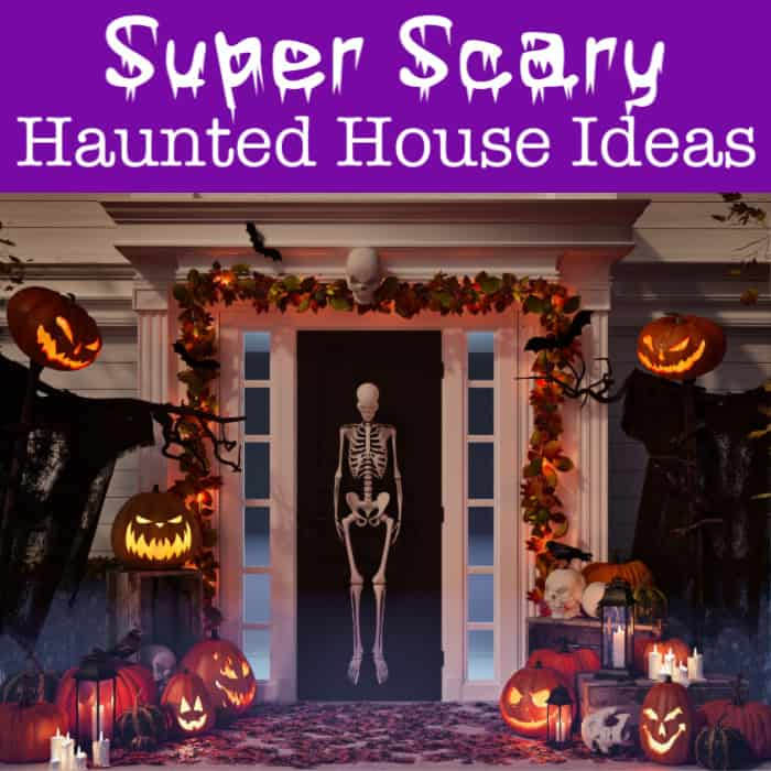Halloween Haunted House Decorations.Super Scary Haunted House Ideas To Set The Mood For Trick Or Treaters Momof6