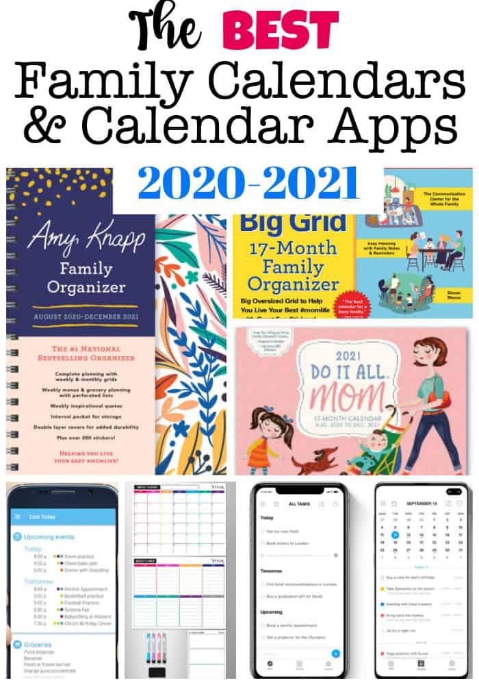 best family calendars 2020-2021