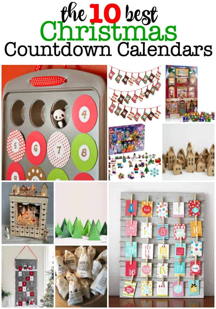 While as adults the month of December just seems to fly by with too much to do in too little time! But for kids- those 24 days crawl at a snail's pace! But using one of these Christmas countdown calendars can make all 24 days special in a small way!