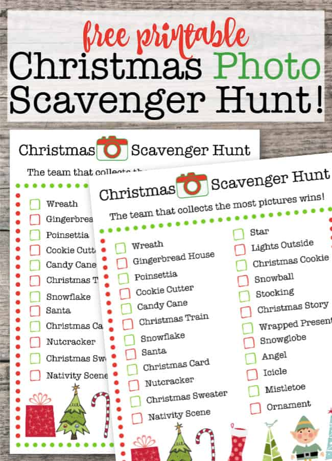 If you are planning on a house filled with tweens and teens for the holidays- this Christmas Scavenger Hunt is a fun thing for them to do while waiting to open presents! It's a great way to get them to talk to one another without having to ban their phones!