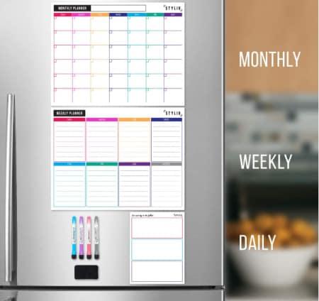 dry erase calendar for fridge