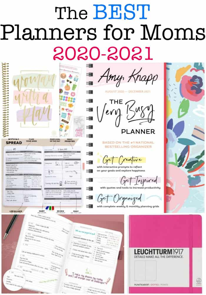 best planners for Moms 2020-2021