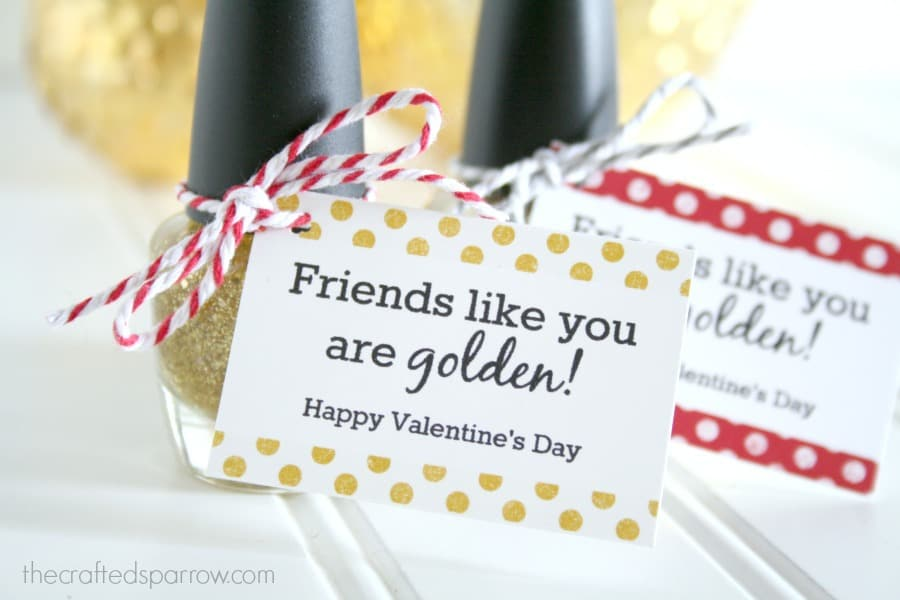 Valentine's gift idea for teens: Friends like you are golden
