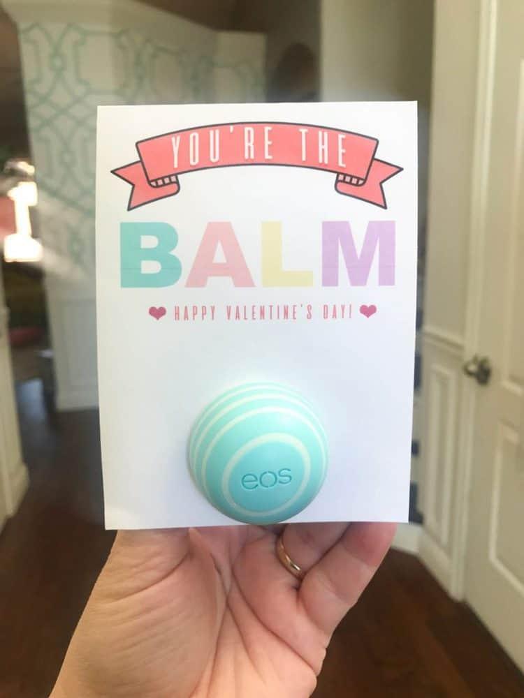 Valentine's gift idea for tweens: lip balm