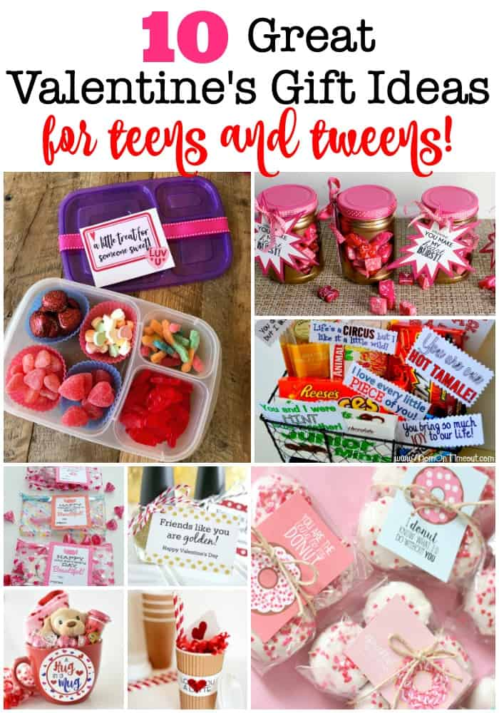 While it's true that Valentine's Day is really not a gift-giving holiday, it is so fun to surprise the kids with a special little treat on Valentine's Day! Here are 10 great Valentine's gift ideas for teens and tweens!