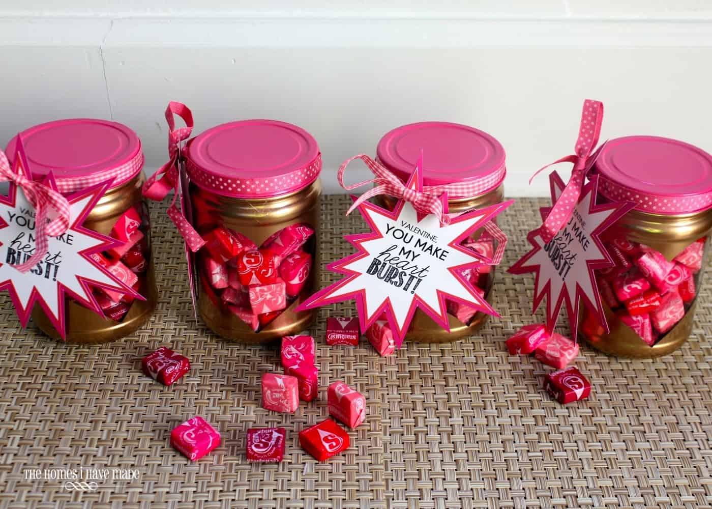 Valentine's Gift Idea for Tweens- you Make My Heart Burst