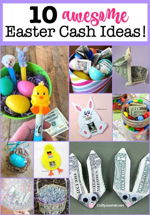 While it is always fun to receive candy in an Easter basket, what really rocks is a little hidden cash! So here are 10 awesome Easter cash gift ideas!