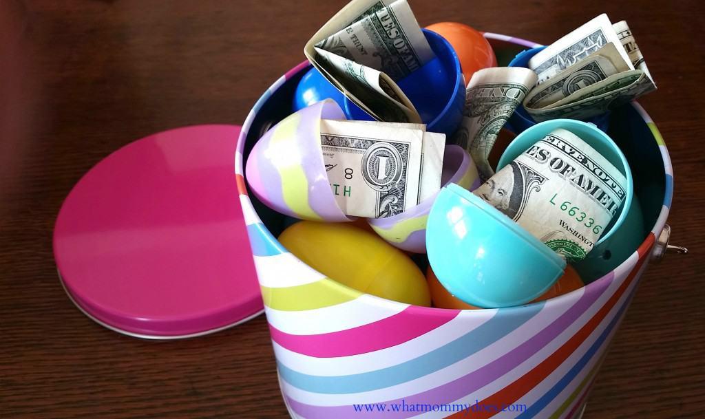 easter eggs cash