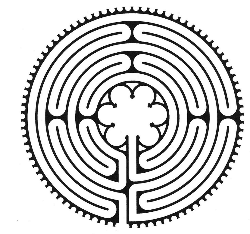 Chartres 7-circuit labyrinth